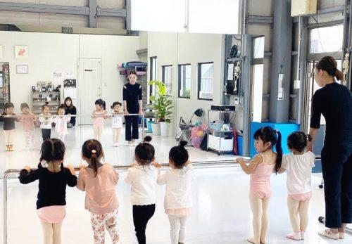 キッズバレエ クラス 土曜日クラスが始まります